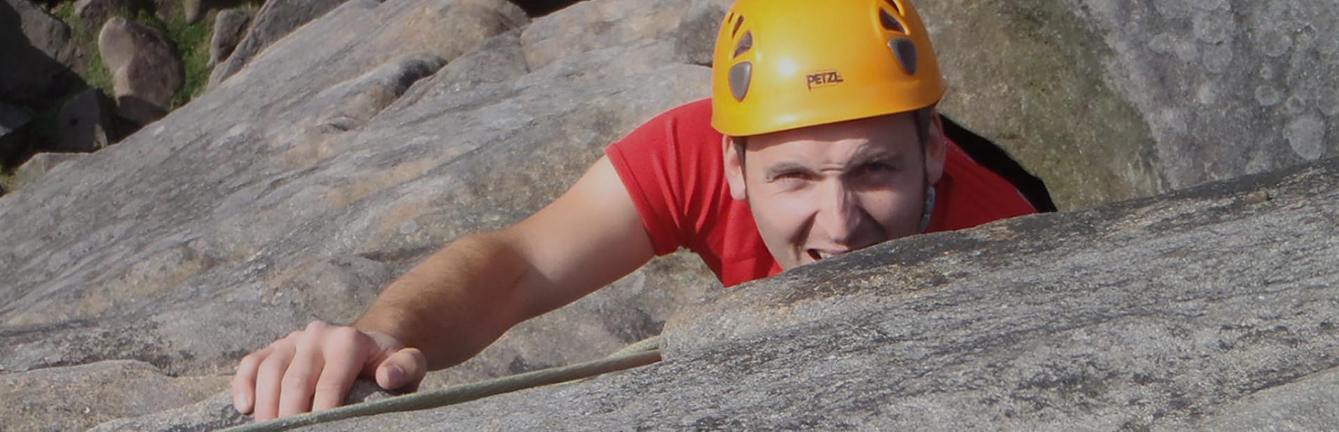 Zážitkové lezenie na skalách